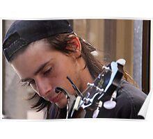 Banjo Blues Poster