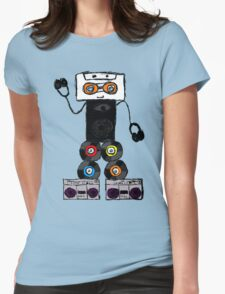 Robo-dance Womens Fitted T-Shirt