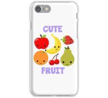 Cute Fruit iPhone Case/Skin