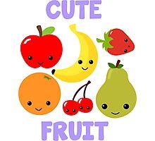 Cute Fruit Photographic Print