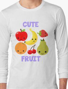 Cute Fruit Long Sleeve T-Shirt