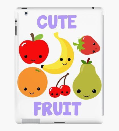 Cute Fruit iPad Case/Skin
