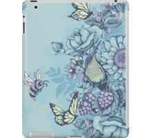 Beauty (eye of the beholder) - powder blue version iPad Case/Skin