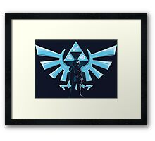 Hyrule Warrior Framed Print
