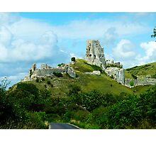 Corfe Castle, Dorset, England Photographic Print