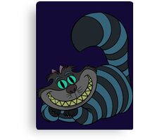 Disney and Burton's Cheshire Cat Canvas Print
