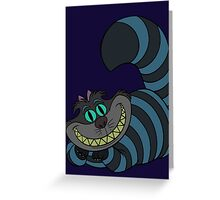 Disney and Burton's Cheshire Cat Greeting Card