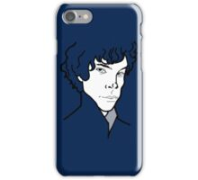 BBC Sherlock - Portrait  iPhone Case/Skin