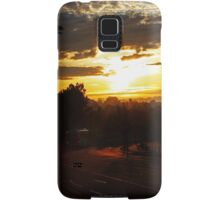 Bus At Dawn Samsung Galaxy Case/Skin