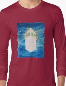 A Day in the Life of a TARDIS Long Sleeve T-Shirt