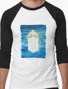 A Day in the Life of a TARDIS Men's Baseball ¾ T-Shirt