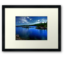 Dogtooth Lake Framed Print