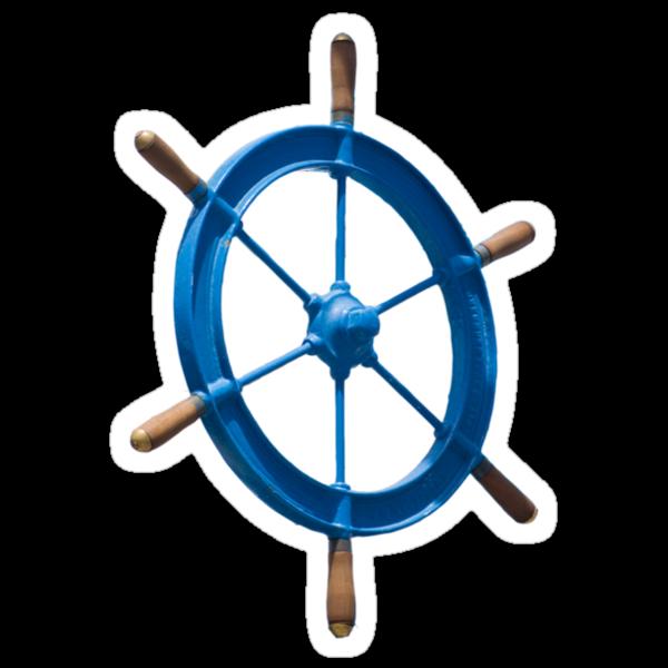blue sailor wheel by Alejandro Durán Fuentes