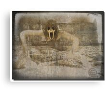 Ghost at the ruins Canvas Print