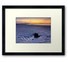 West Beach Lossiemouth Framed Print