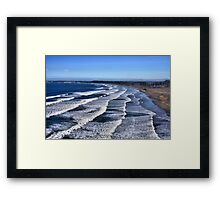 Crescent Beach Framed Print