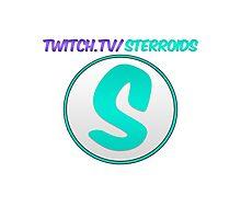 Sterroids twitch logo Photographic Print