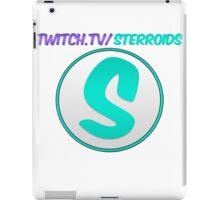 Sterroids twitch logo iPad Case/Skin