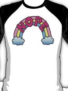 Nope Rainbow T-Shirt