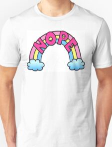 Nope Rainbow Unisex T-Shirt