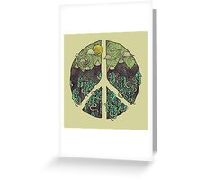Peaceful Landscape Greeting Card