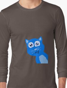 Peek-A-Boo Kitty  Long Sleeve T-Shirt