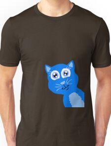Peek-A-Boo Kitty  Unisex T-Shirt
