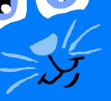 Peek-A-Boo Kitty  Sticker