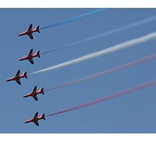 Red Arrows @ Goodwood 2009 Photographic Print