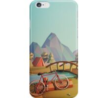 Geometric Enjoy Nature iPhone Case/Skin