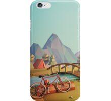 Geometric Enjoy Nature iPhone Case/Skin