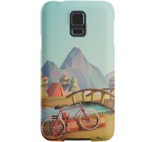Geometric Enjoy Nature Samsung Galaxy Case/Skin