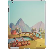 Geometric Enjoy Nature iPad Case/Skin