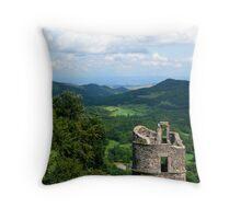 Le Château de Murol, France Throw Pillow