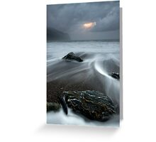 Jackson Bay. Greeting Card