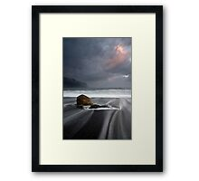 Jackson Bay, West Coast, NZ. Framed Print