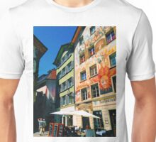 Colorful old town Lucerne Unisex T-Shirt