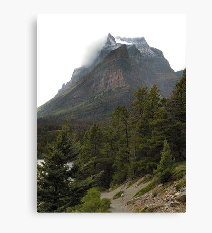 Going-to-the-Sun Mountain, Glacier National Park, Montana, USA Canvas Print