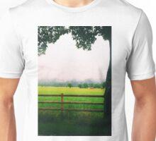 Foggy German countryside Unisex T-Shirt