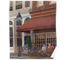 Corner Restaurant Poster