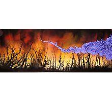 Burning Fields Photographic Print