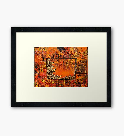 Devils Desire - Detail Framed Print