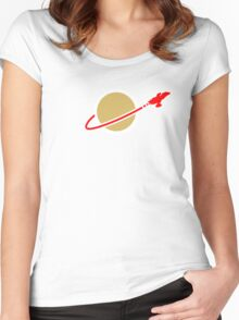 LEGO SPACE SERENITY (FIREFLY) Women's Fitted Scoop T-Shirt