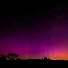 Aurora In The Yorkshire Dales 2 by Sandra Cockayne