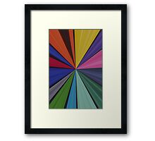 Colourful Abstract Print I Framed Print