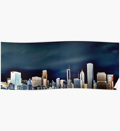 Chicago Skyline, Part Deux Poster