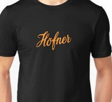 Vintage Hofner  Orange Unisex T-Shirt