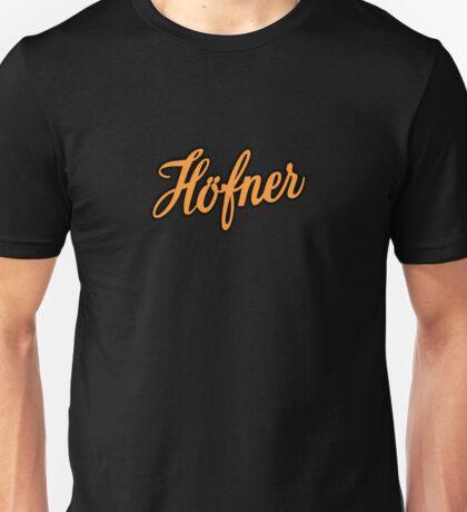 Vintage Hofner  Orange Unisex T-Shirt