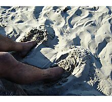 Sand Slippers Photographic Print