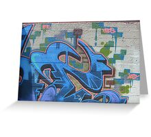 Jest Graffiti Art Greeting Card